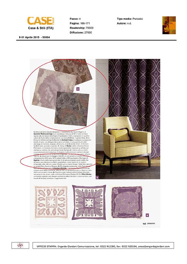Case stili agena carte e tessuti per l 39 arredamento for Stili di fondazione di case
